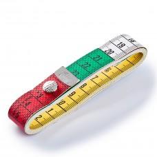 """Метр портняжный Pryme """" Color Plus"""" с кнопкой 1.5 м 282460"""