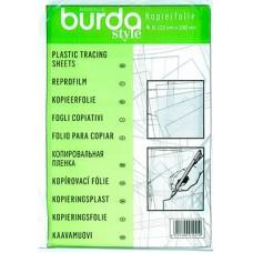 Копировальная пленка Burda 122x110 см 4 шт 1021 A