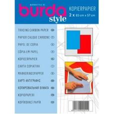 Копировальная бумага Burda 83x57 см 2 шт 1100 A