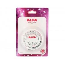 Сантиметр-рулетка ALFA биометрический 1,5 м AF-3453