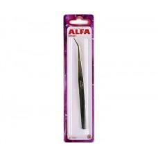Пинцет ALFA 18 см AF-TWE7