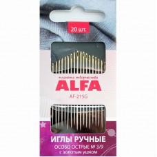 Иглы ALFA особо острые № 3/9 AF-215G