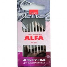 Иглы ALFA для вышивания AF-231