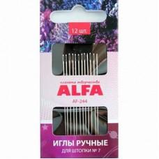 Иглы ALFA для штопки № 7 AF-244