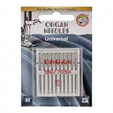 Иглы Organ универсальные № 90 10 шт. 130/705.90.10.H Blister