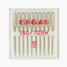 Иглы Organ универсальные № 80 10 шт. 130/705.80.10.H