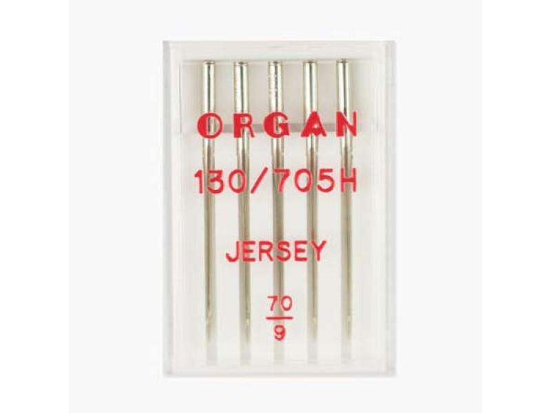 Иглы Organ джерси № 70 5 шт. 130/705.70.5.H-JR