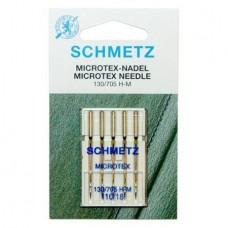 Иглы Schmetz микротекс №110 5 шт. 130/705H-M