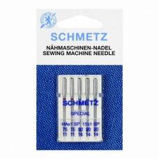 Иглы Schmetz супер стрейч №75-90 5 шт. HAx1 SP