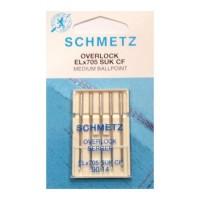 Иглы Schmetz для оверлока стрейч № 90 5 шт. ELx705 SUK CF