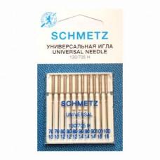 Иглы Schmetz универсальные № 70-100 10 шт. 130/705H