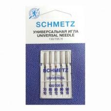 Иглы Schmetz универсальные № 70-80(2)-90(2) 5 шт. 130/705H