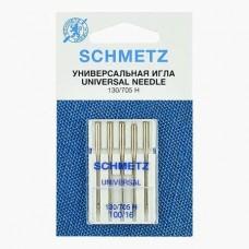 Иглы Schmetz универсальные № 100 5 шт. 130/705H