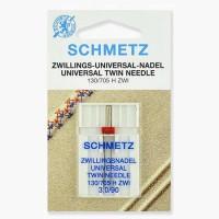 Иглы Schmetz двойные универсальные № 90/3 1 шт. 130/705H-ZWI