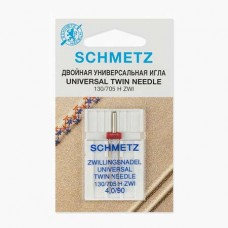 Иглы Schmetz двойные универсальные № 90/4 1 шт. 130/705H-ZWI