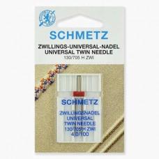 Иглы Schmetz двойные универсальные № 100/4 1 шт. 130/705H-ZWI