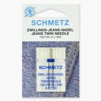Иглы Schmetz двойные джинс № 100/4 1 шт. 130/705H-J ZWI