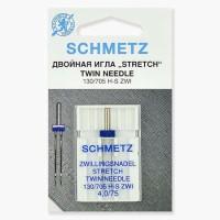 Иглы Schmetz двойные стрейч №75/4 1 шт 130/705H-S ZWI