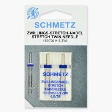 Иглы Schmetz двойные стрейч №75/4 2 шт 130/705H-S ZWI