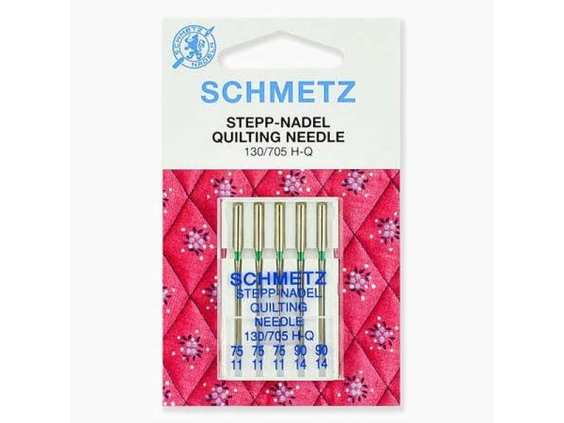 Иглы Schmetz для квилтинга №75-90 5 шт. 130/705H-Q