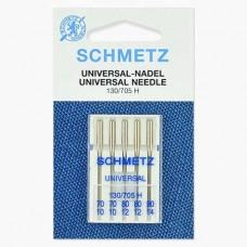 Иглы Schmetz универсальные № 70(2)-80(2)-90 5 шт. 130/705H