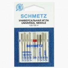 Иглы Schmetz комбинированные 8+1 шт. 130/705H