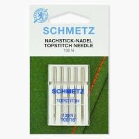 Иглы Schmetz для отстрочки TopStitch №100 5 шт 130N