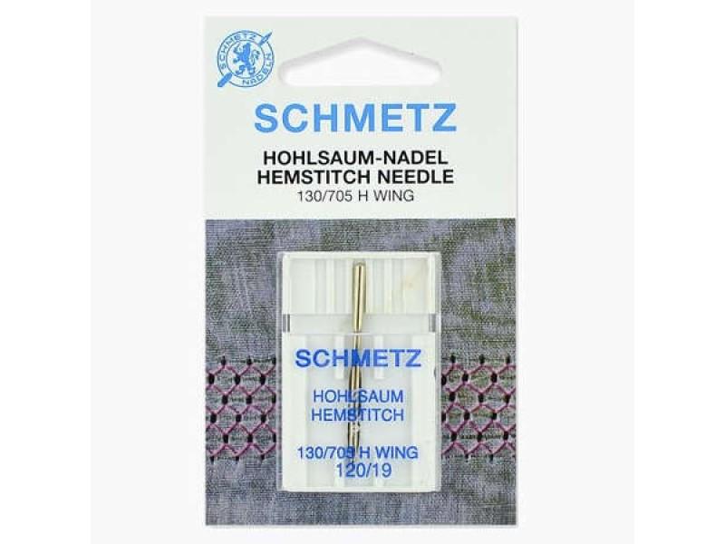 Иглы Schmetz для мережки №120 1 шт 130/705H-WING
