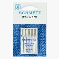 Иглы Schmetz для оверлока № 90 5 шт. ELx705