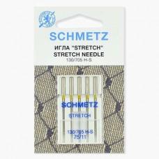 Иглы Schmetz стрейч №75 5 шт. 130/705H-S