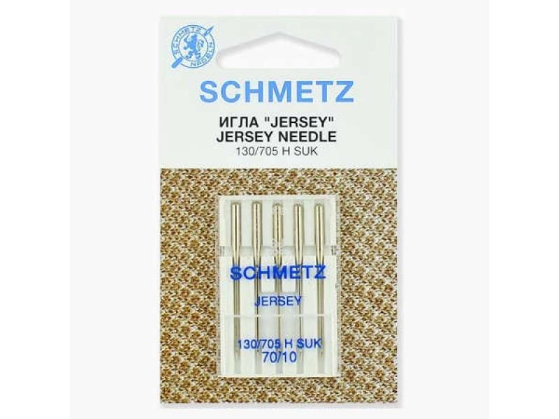 Иглы Schmetz для джерси №70 5 шт. 130/705H-SUK