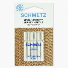 Иглы Schmetz для джерси №80 5 шт. 130/705H-SUK