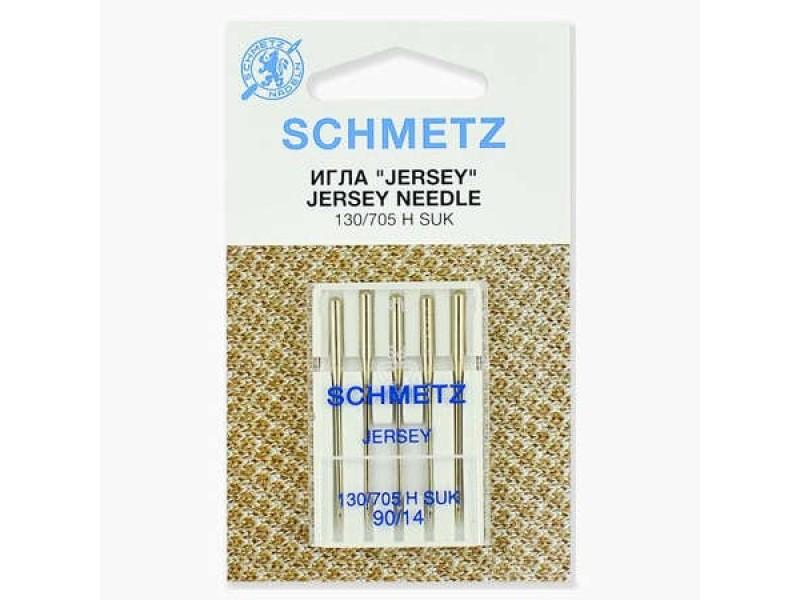 Иглы Schmetz для джерси №90 5 шт. 130/705H-SUK