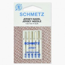 Иглы Schmetz для джерси №70-100 5 шт. 130/705H-SUK