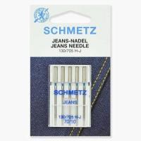 Иглы Schmetz для джинса № 70 5 шт. 130/705H-J