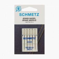 Иглы Schmetz для джинса № 80 5 шт. 130/705H-J
