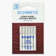 Иглы Schmetz для кожи №110 5 шт. 130/705H LL