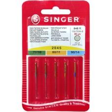 Иглы Singer для трикотажа № 70-90 5 шт. 130/705H-S