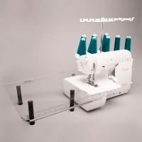 Столик Babylock приставной прозрачный CT-1