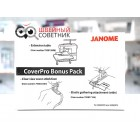 Набор Janome CoverPro Bonus Pack (столик и 2 лапки...