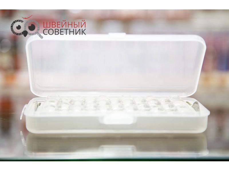 Коробка на 28 шпулек + 2 нитевдевателя