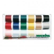Набор ниток MADEIRA Aerofil 18 x 200 м 8041