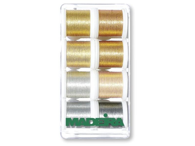 Набор ниток MADEIRA Metallic Smooth 8 х 200 м 8019