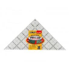 """Линейка OLFA для пэчворка """"треугольник"""" 6,5"""" 1071796"""