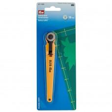 Нож раскройный Prym круглый Super Mini 18 мм 611580