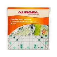 Линейка Aurora для пэчворка 15х15 см AU-1515