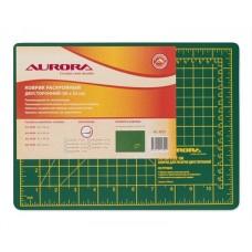 Коврик Aurora для раскроя двухсторонний 30х22 см AU-A4