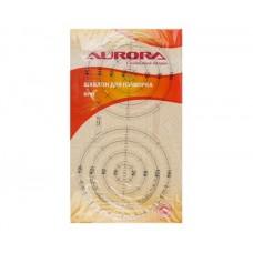 "Шаблон Aurora для пэчворка ""круг"" AU-SK"