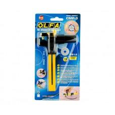 Нож раскройный OLFA циркульный с круглым лезвием CMP-3