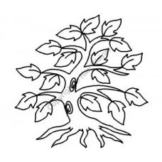 Трафарет для пэчворка Old Oak Tree